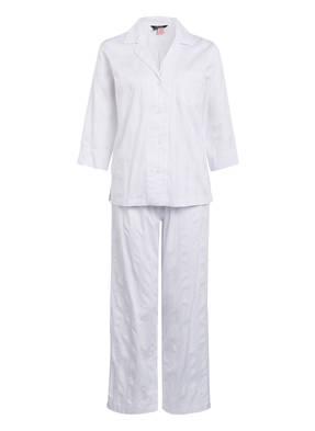 LAUREN RALPH LAUREN Schlafanzug SHADOW STRIPE