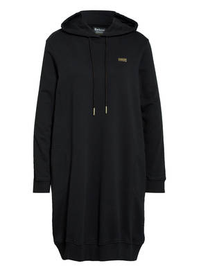 BARBOUR INTERNATIONAL Hoodie-Kleid mit Galonstreifen