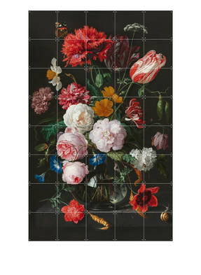 IXXI Wandpuzzle STILL LIFE WITH FOWERS