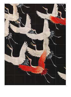 IXXI Zweiseitiges Wandpuzzle KIMONO WITH CRANES