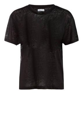 ANINE BING T-Shirt HARPER aus Leinen