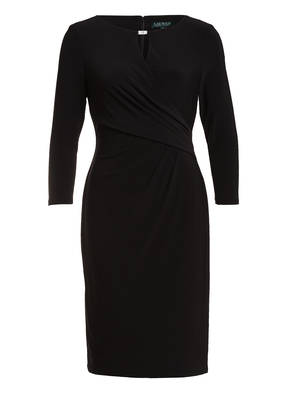 LAUREN RALPH LAUREN Kleid mit 3/4-Arm in Wickeloptik