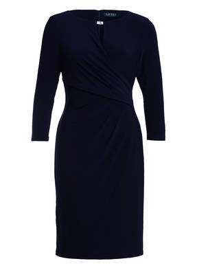 LAUREN RALPH LAUREN Kleid mit 3/4-Arm in Wickeloptik