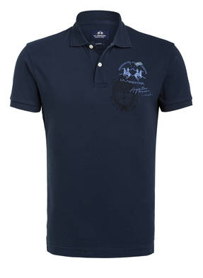 LA MARTINA Piqué-Poloshirt Slim Fit
