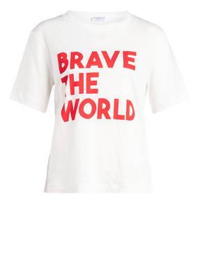 CLAUDIE PIERLOT T-Shirt TEARSWORLD aus Leinen