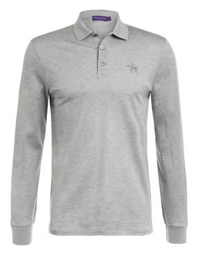 RALPH LAUREN PURPLE LABEL Piqué-Poloshirt Custom Slim Fit