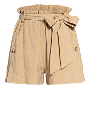 RINASCIMENTO Shorts mit Leinen