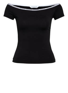 Calvin Klein Jeans Off-Shoulder-Shirt