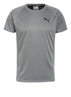 PUMA T-Shirt RTG mit Mesh-Einsatz