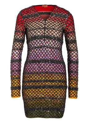 MISSONI Kleid mit Paillettenbesatz