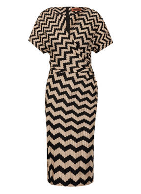 MISSONI Strickkleid in Wickel-Optik