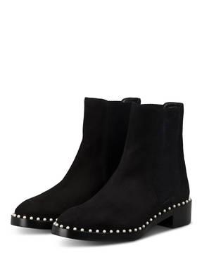 STUART WEITZMAN Chelsea-Boots CLINE mit Perlenbesatz