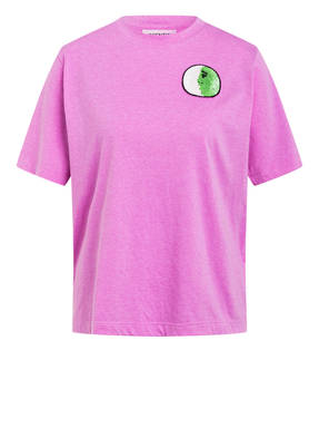ESSENTIEL ANTWERP T-Shirt WAGON mit Paillettenbesatz