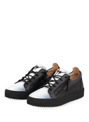 GIUSEPPE ZANOTTI DESIGN Plateau-Sneaker PYTHON
