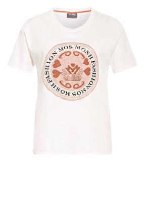 MOS MOSH T-Shirt LEAH mit Schmucksteinbesatz