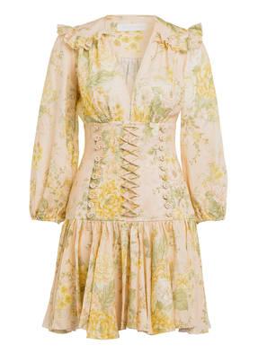 ZIMMERMANN Kleid AMELIE mit Mieder und 3/4-Arm