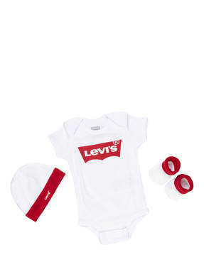 Levi's® Set: Body, Socken und Mütze