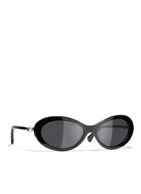 CHANEL Sunglasses Schmale Sonnenbrille
