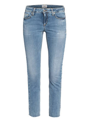 CAMBIO Skinny Jeans LIU mit Swarovski Kristallen