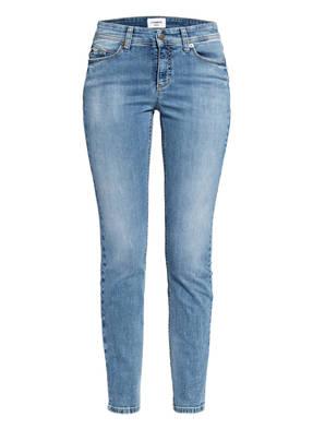 CAMBIO Skinny Jeans PARLA mit Swarovski Kristallen