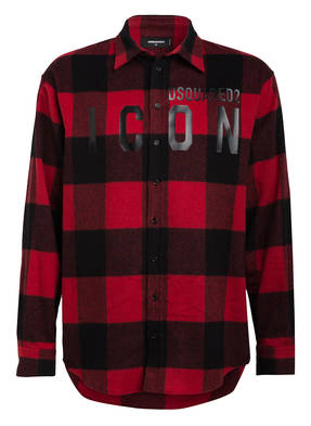 DSQUARED2 Flanellhemd ICON Comfort Fit