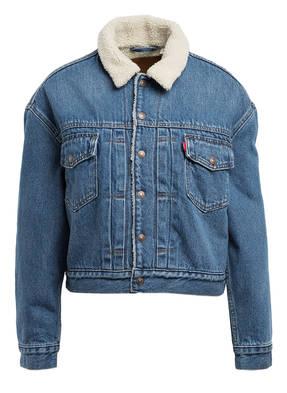 Levi's® Oversized-Jeansjacke HOT HEAD mit Teddyfellfutter