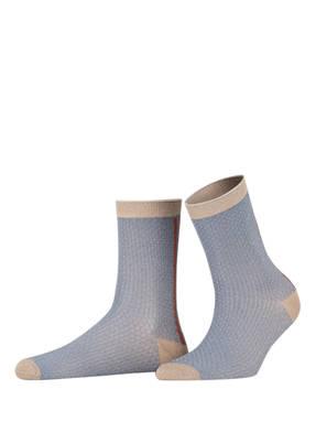 BECKSÖNDERGAARD Socken SHIMMER PASHA mit Glitzergarn