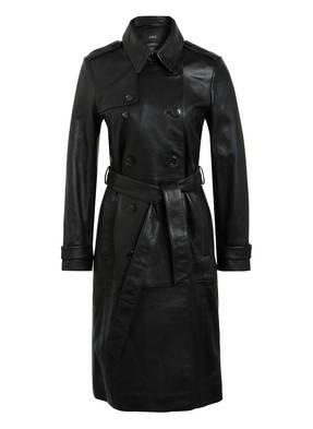SET Trenchcoat aus Leder