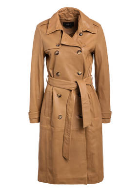 SET Trenchcoat aus Leder