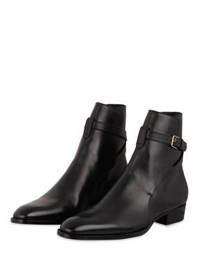 SAINT LAURENT Biker Boots WYATT