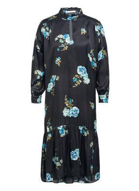 oui Kleid mit Rüschenbesatz
