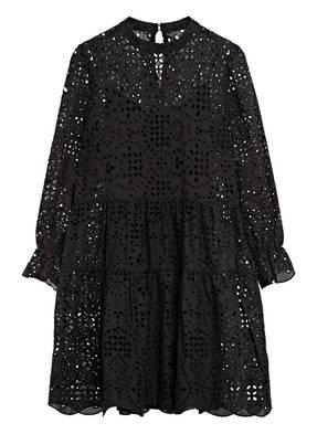 Mrs & HUGS Kleid aus Lochspitze mit Stickereien