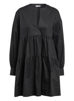 ANINE BING Kleid ADDISON mit Volantbesatz