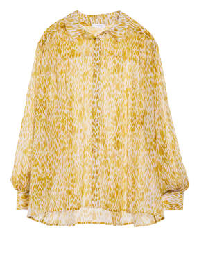ANINE BING Oversized-Hemdbluse aus Seide