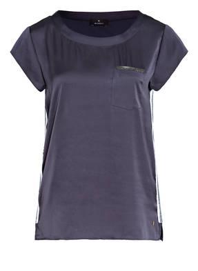 monari T-Shirt im Materialmix