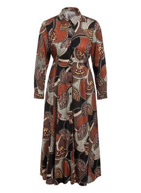RINASCIMENTO Hemdblusenkleid mit Glitzergarn