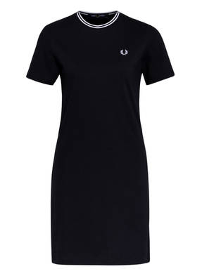 FRED PERRY Piqué-Kleid
