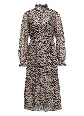 maje Kleid RAPARD mit Volantsbesatz