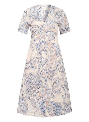 SECOND FEMALE Kleid DELINA mit Lochstickerei
