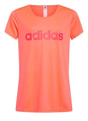 adidas T-Shirt mit Mesh-Einsatz