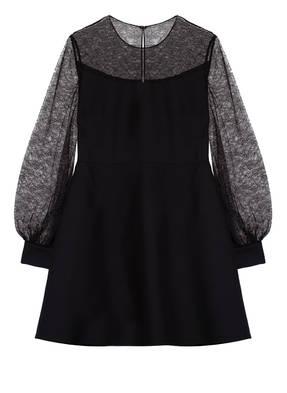 VALENTINO Kleid mit Spitzenbesatz
