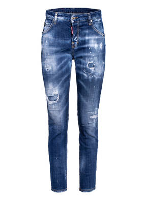 DSQUARED2 7/8-Destroyed Jeans COOL GIRL