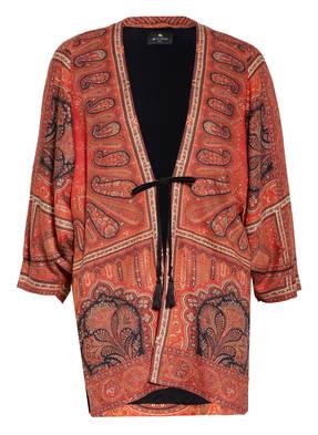 ETRO Kimono mit Leinen