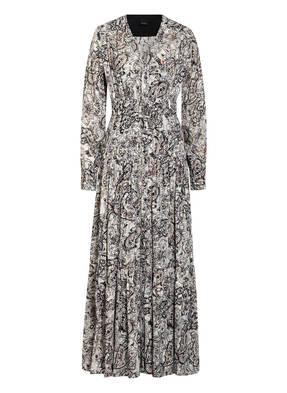 PINKO Hemdblusenkleid mit Glanzgarn
