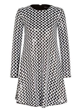 EMPORIO ARMANI Kleid mit Paillettenbesatz