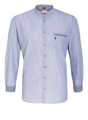 Spieth & Wensky Trachtenhemd Slim Fit mit Stehkragen