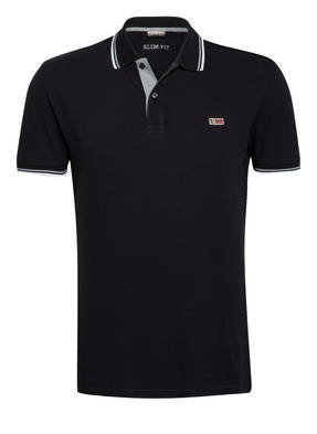 NAPAPIJRI Piqué-Poloshirt TALY STRIPE Slim Fit