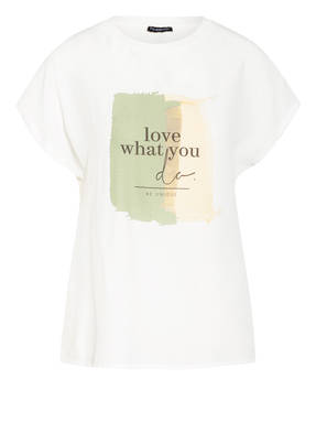 ONE MORE STORY T-Shirt im Materialmix