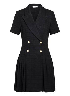 SANDRO Tweed-Kleid