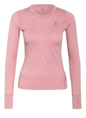odlo Funktionswäsche-Shirt NATURAL WARM aus Merinowolle